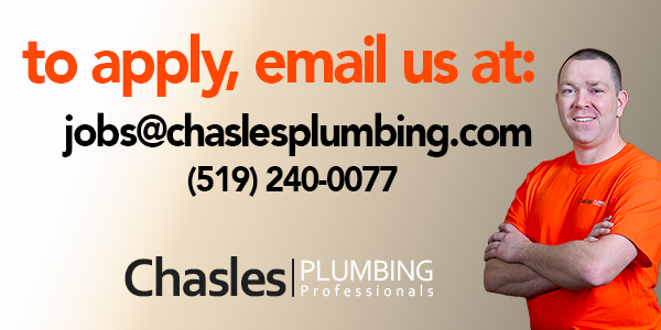 apply for a job at Chasles Plumbing Professionals