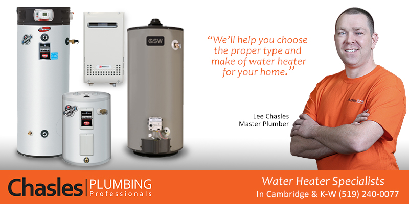 Water Heater Chasles Plumbing